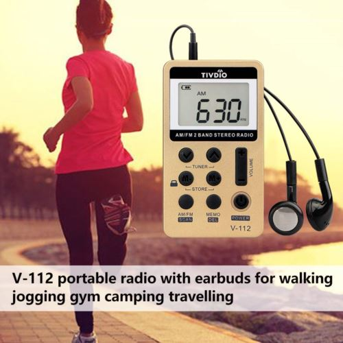 Retekess V112 Mini Radio Battery Operated Radio Portable