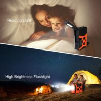 hr12w radio with flashlight