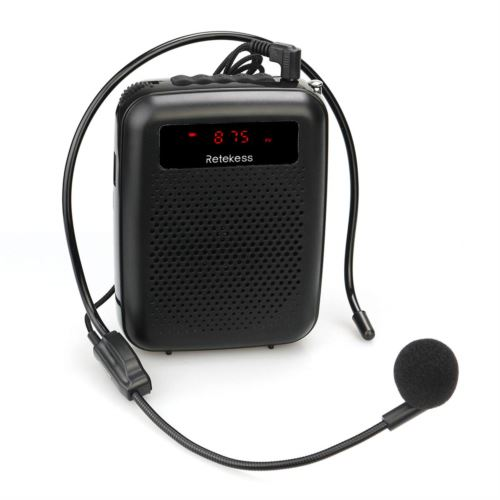Retekess PR16R Portable Voice Amplifier High Power with Microphone