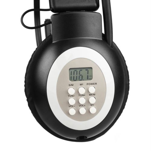 Retekess TR101 Headphone FM Radio Receiver