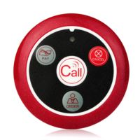 4 key wireless calling system call button