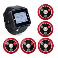 retekess T128 watch receiver with 5 call buttons