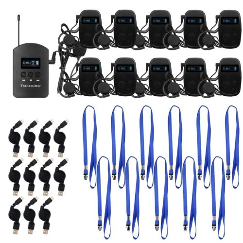 Retekess TT103 Wireless Tour Guide System Church Translation System