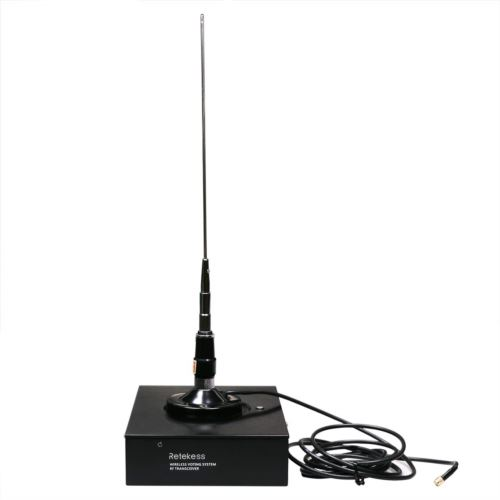 Retekess Wireless Conference Voting System Support 24 Channels 1 T146 Main Control Base Station and 10 T147 Wireless Voting Devices