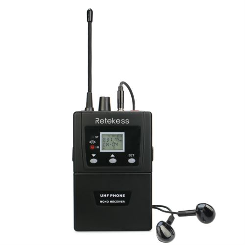 Retekess T127 RF Wireless Conference System Simultaneous Interpretation