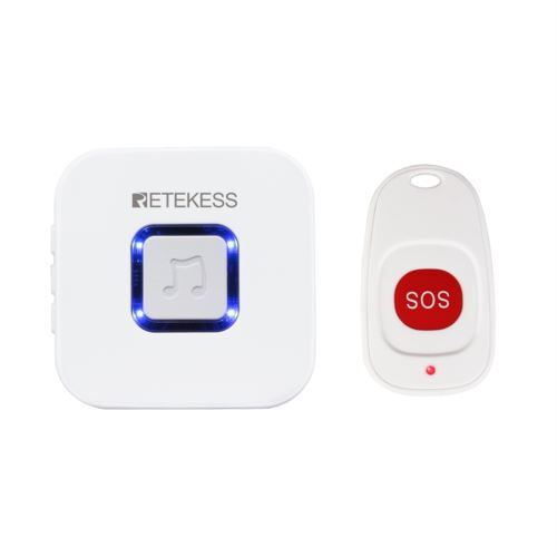 TH101 Wireless Caregiver Pager SOS Smart Call Button