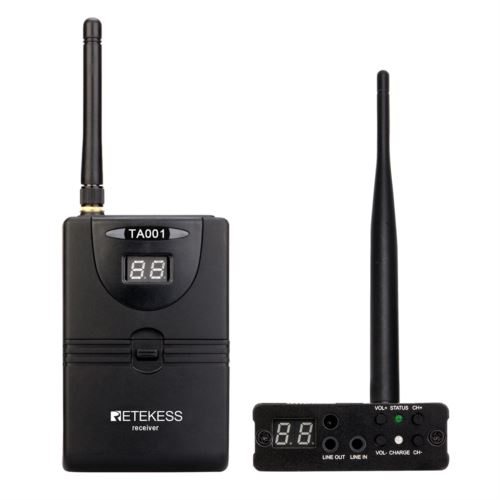 Retekess TA001 In Ear Audio Monitor System Stage Audio System 2.4G