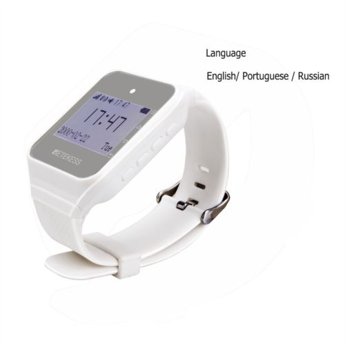 "Retekess <span class=""search-result-highlight"">TD108</span> Wireless Wrist Watch Receiver Calling System"
