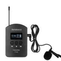wireless transmitter with microphone