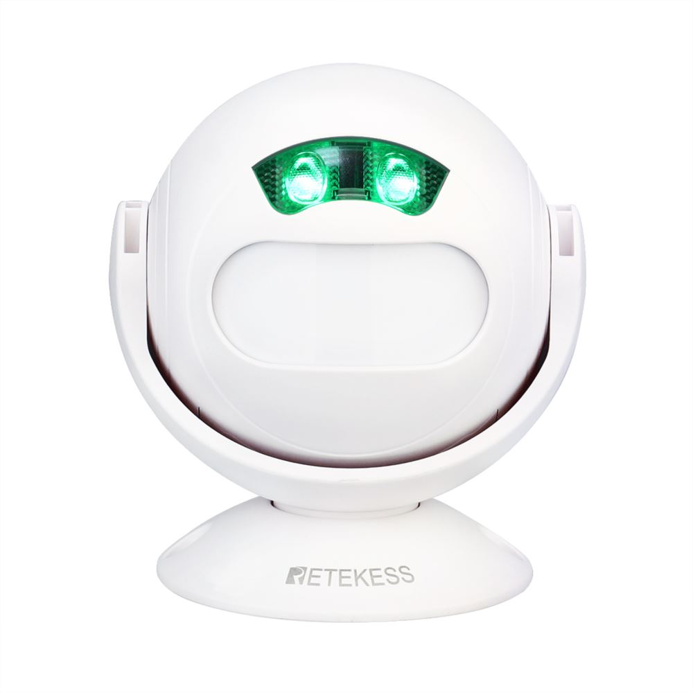 Retekess TD107 One-Way Door Welcome Alarm Wireless Doorbell Alert Motion Sensor Device