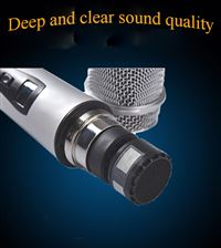 crystal sound quality mic