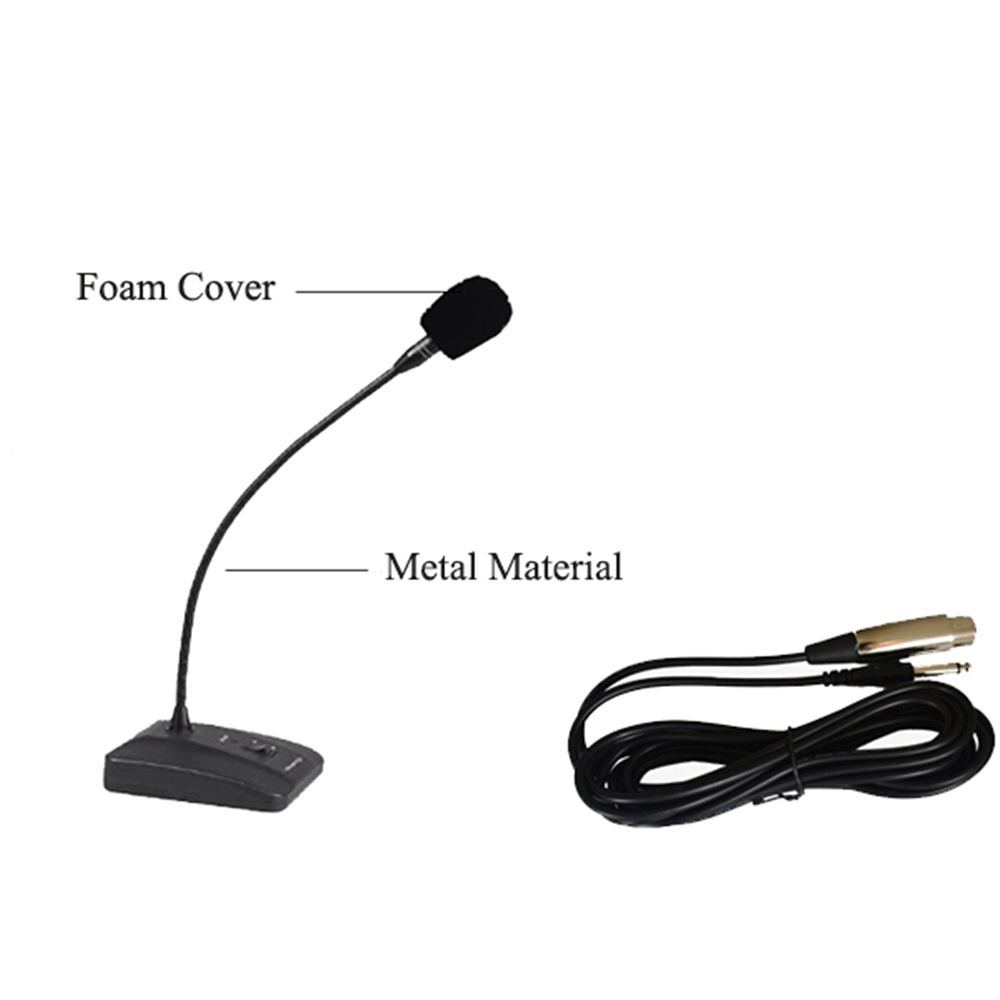 Table Microphone for Retekess FM Transmitters