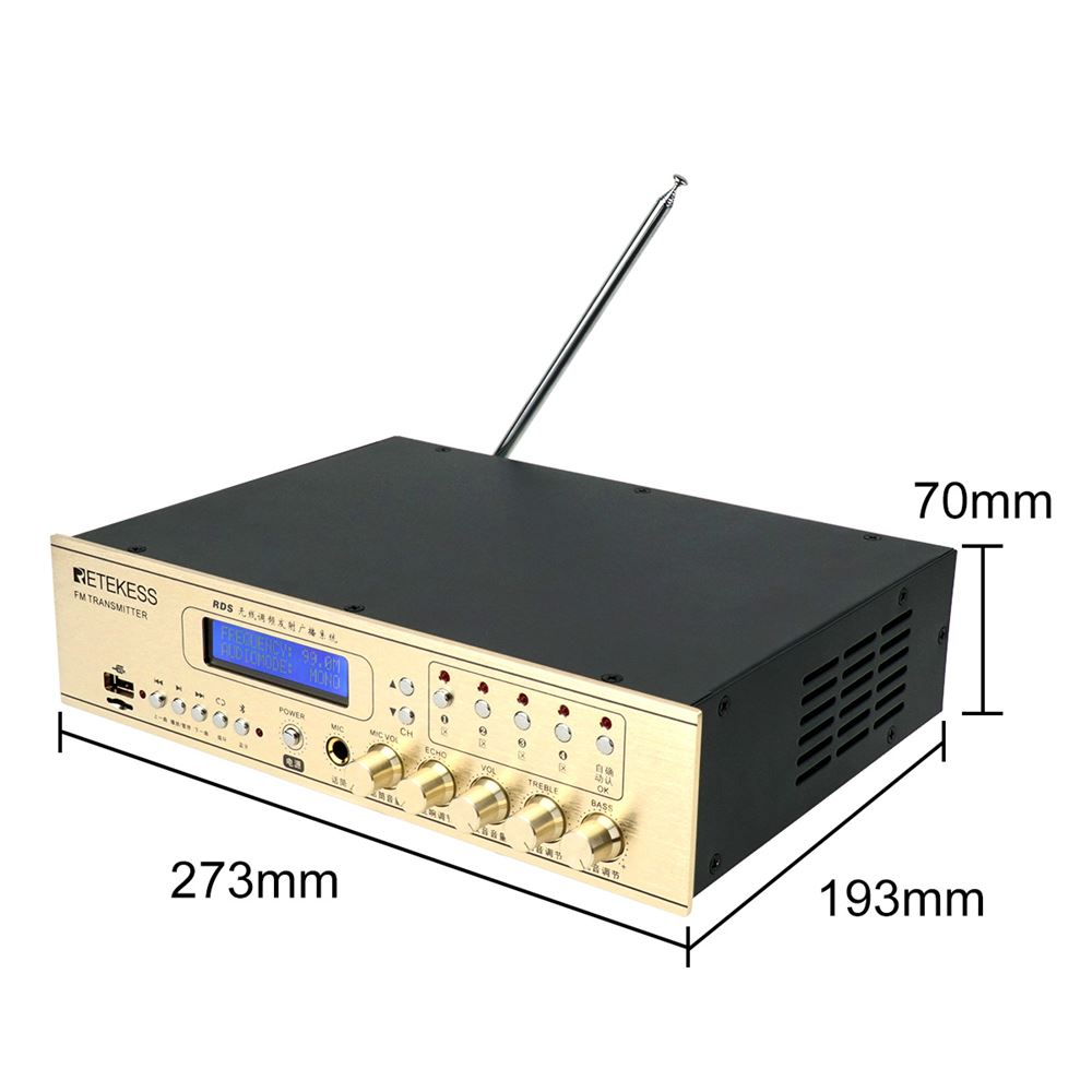 TR507 FM Transmitter Long Range for Drive-in Church