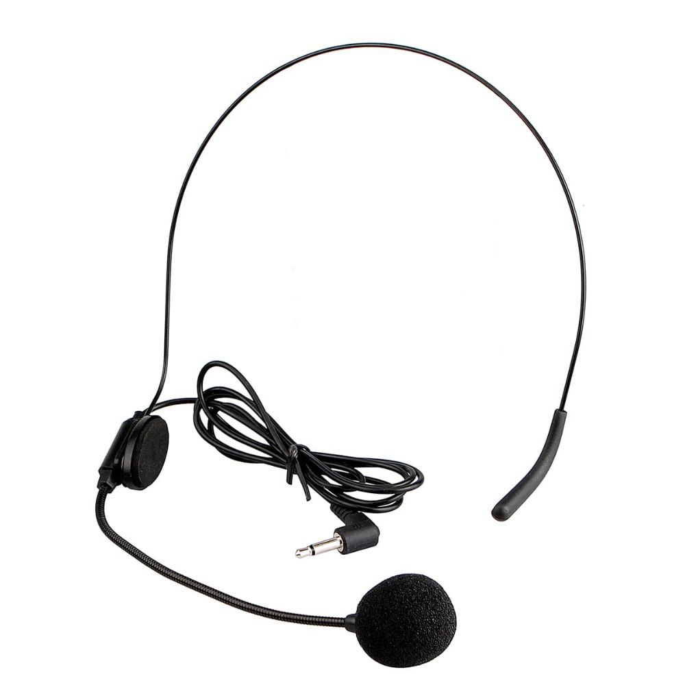 Professional Tour guide System 3.5mm  Mini Headset Microphone