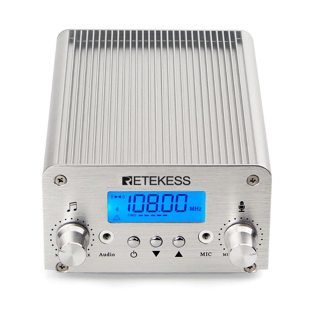 TR502 Bluetooth FM Broadcast Transmitter for Drive-in Church Service In Stock