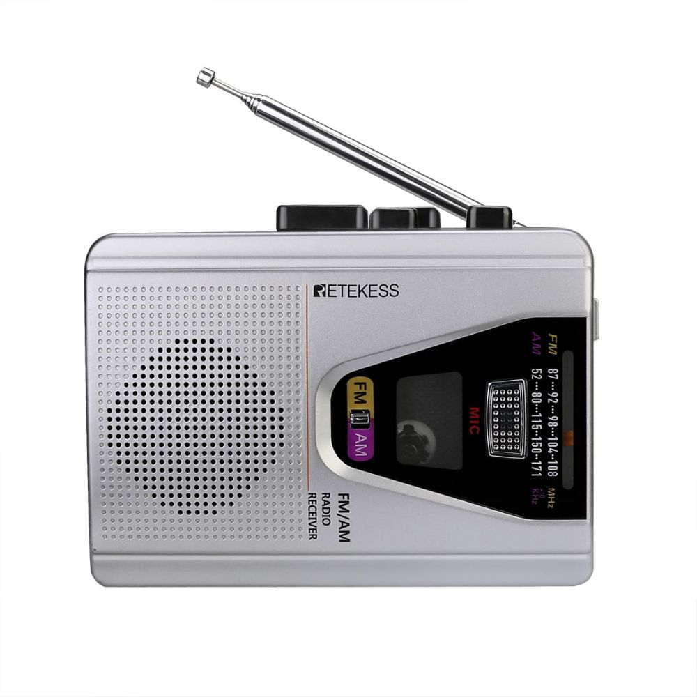 TR620 Cassette Player Portable AM FM Tape Player with Auto Reverse