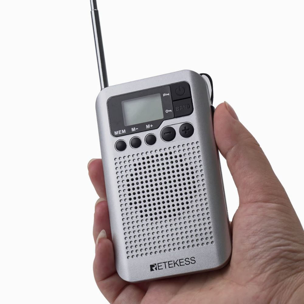 Retekess TR106 AM FM Portable Pocket Radio