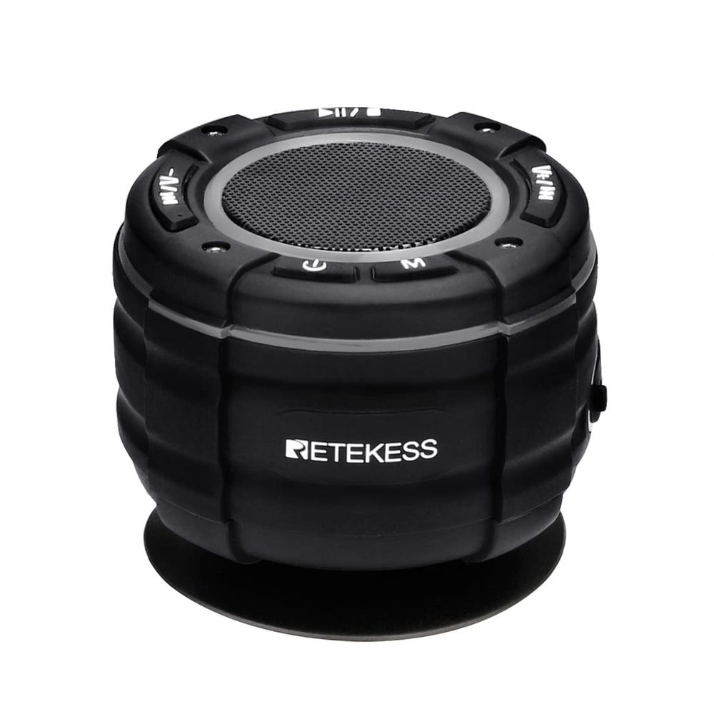 Retekess TR622 Bluetooth FM Radio Shower Speaker
