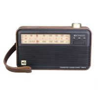 portbale radio with precise tuning