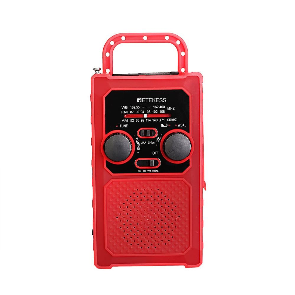"Retekess TR201 AM <span class=""search-result-highlight"">FM</span> NOAA Emergency Solar Hand Crank Portable Radio"