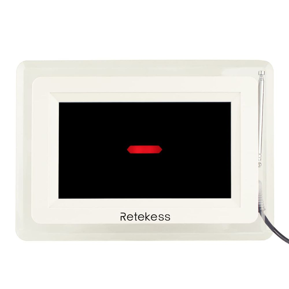 T114 Wireless Queue Calling System Dispaly Receiver Host for Restaurant Clinic