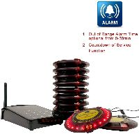 wireless calling system for restaurant
