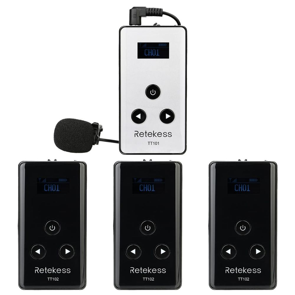 Retekess TT101 Wireless Tour Guide System