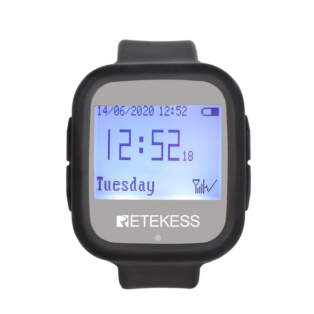 Retekess TD106 Wireless Calling System Watch Receiver