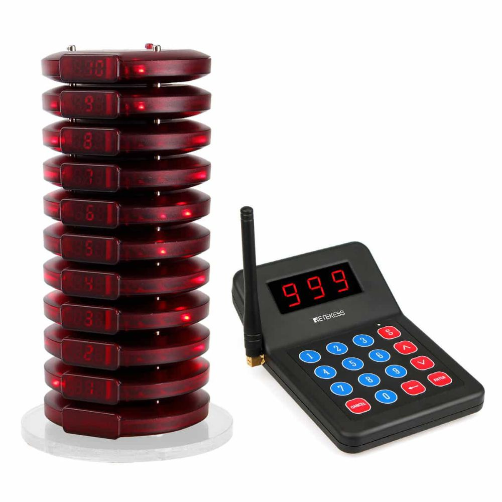 T119 Restaurant Wireless Paging System for Business