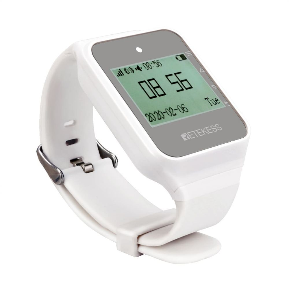 "Retekess <span class=""search-result-highlight"">TD108</span> Wireless Smartwatch Receiver with English Spanish Italian"