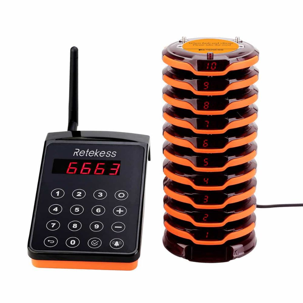 TD156 Wireless Paging System FM Frequency Technology IP67