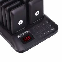 TD157-guest-paging-system-black-keypad-display
