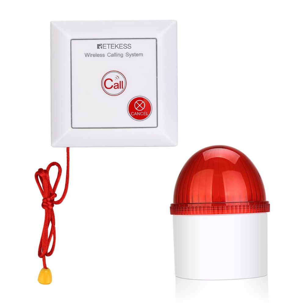 TH103 Security Alarm Motion Sensor with Light for Hospital Warehouse and Supermarket