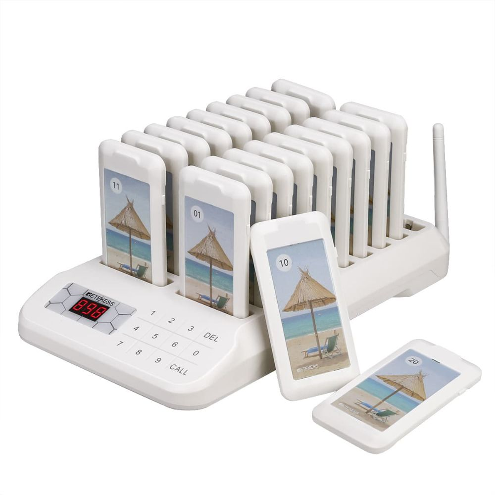 TD172 Wireless Guest Paging System Restaurant Pagers