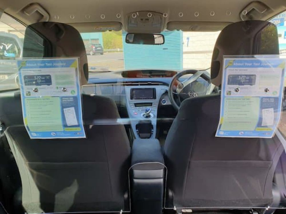 Intercom System for Taxi Car Van