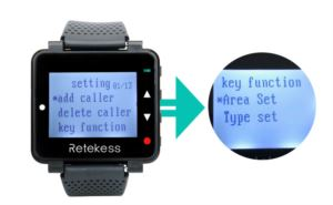 How to use the Key Function of the T128 watch receiver doloremque
