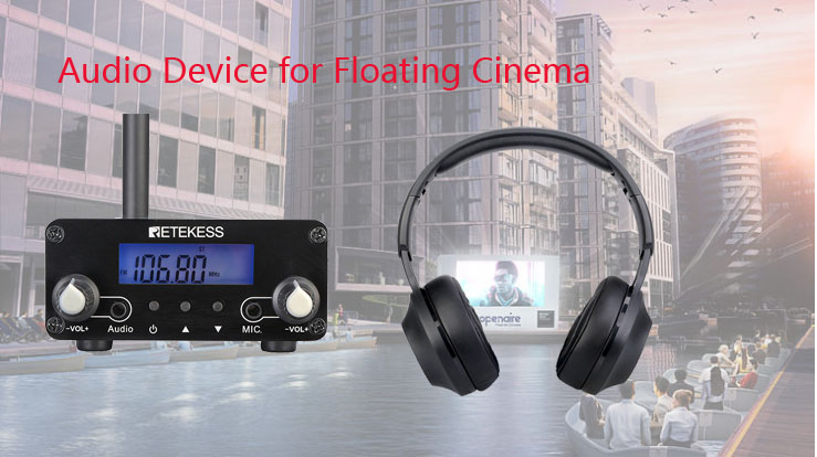 What Audio system do you need for floating cinema?