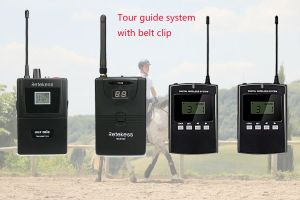 Do you need tour guide system with a belt clip? doloremque