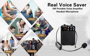 Retekess TR619 Voice Amplifier with Wireless Microphone doloremque