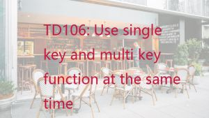 How to use both single key function and multikey function at the same time? doloremque