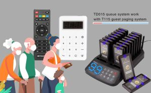 How to use the guest paging system with the TD015 smart queue system? doloremque