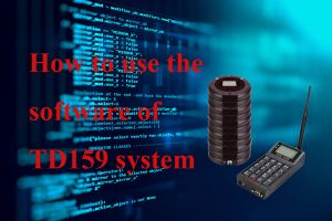 What can you do with the TD159 Alphanumeric Pager software? doloremque