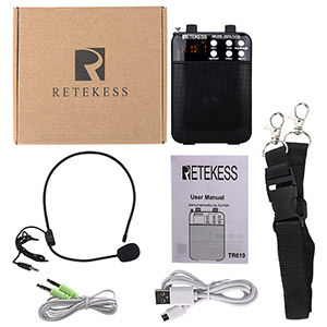 Retekess TR6196 Voice amplifiler